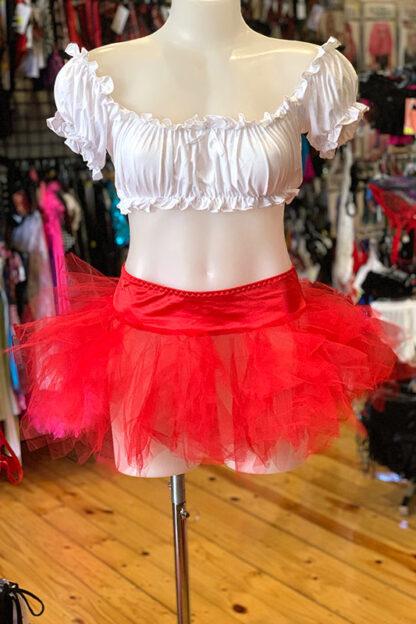 Tulle Tutu Skirt - Red Front