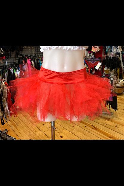 Tulle Tutu Skirt - Red